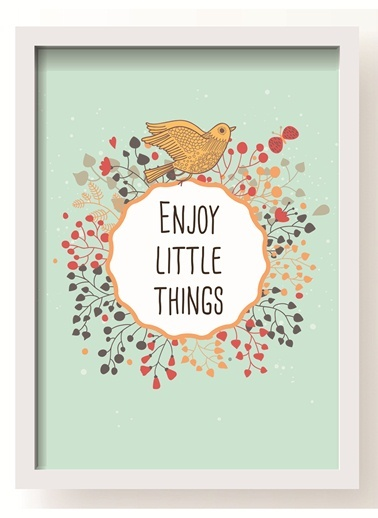Enjoy Little Things Poster-All About Wall